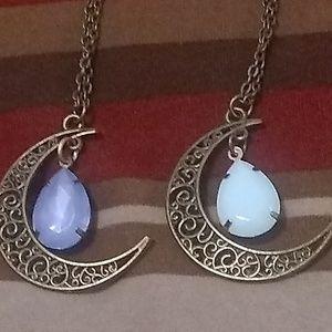 Jewelry - BUNDLE SET OF 2 HALF moon
